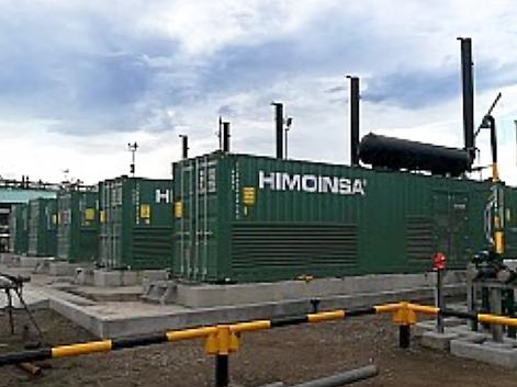 Himoinsa power plant